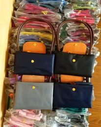 Diseñador de Marca de Moda clásica Impermeable de Las Mujeres Bolsos de Nylon Mango Largo Bolsos de Hombro de Las Mujeres Bolso de compras Totes Casual desde fabricantes