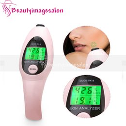 spa water testers Coupons - Portable Mini Handle Digital Skin Sensor Moisture Analyzer Water Oil Facial Tester Monitor Spa Beauty Device
