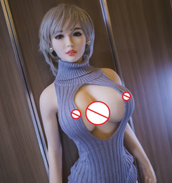 Wholesale silicone realistic love doll - real TPE silicone sex dolls 140cm skeleton adult japanese love doll vagina lifelike pussy realistic sexy doll for men big breast