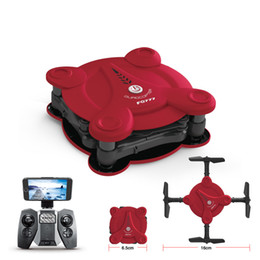 2019 мини-камера wifi drone Мини Quadcopter RC Drone пульт дистанционного управления вертолет 2.4 G WIFI 0.3 MP камера видео Складной светодиодный свет Drone самолет игрушки FQ17W скидка мини-камера wifi drone