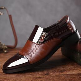 2018 Moda Oxford Business Uomo Scarpe da uomo traspirante morbido scarpe  formali punta a punta marchio di lusso in pelle PU Oxford HH-567 marche di  scarpe ... 1df5ba7fa54