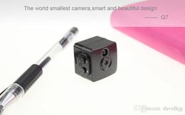 Wholesale Dvr Spycam - DINGFENTECH 2017 Smallest Cam 1080P Full HD Secret Mini Camera Night Vision IR-CUT Video Recorder Micro Camcorder DV DVR Spycam