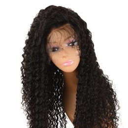 perruques de 6a classe Promotion 6A Grade Cheveux Brésiliens 150 Densité Longue Lace Front Perruque de Cheveux Humains Sans Colle Full Lace Perruques de Cheveux Humains Bouclés Pour Les Femmes Noires