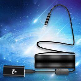 Wholesale Mini Camera Tube - Mini wireless Endoscope Wifi for iOS Android Borescope HD 720P 2.0MP Tube IP67 Waterproof Inspection Camera