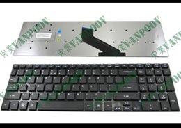 Teclados de laptop acer on-line-Novo e Original Notebook teclado Do Laptop Para Acer Aspire 5830 5830G 5830G 5755 5755G, V3-571-6800 V3-571-6643, para Gateway NV55 NV57 Preto