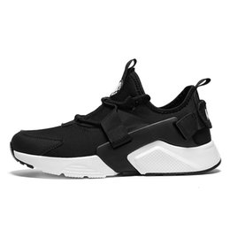 Wholesale Waterproof Casual Shoes For Men - Air Huarache Ultra running shoes Triple white black Huraches Running trainers for men outdoors shoes Huaraches sneakers Hurache Casual Shoes