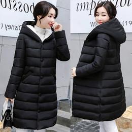 Wholesale Womens Parka Green - Artificial cashmere Parkas Female Women Winter Coat Thickening Cotton Winter Jacket Womens Outwear Parkas for Outwear