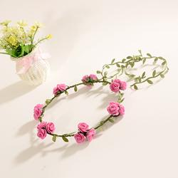 Wholesale Photo Bubbles - wedding vacation headdress garlands flower wreath Hot European&American photo popular headband, bubble flower wreath,headdress popular