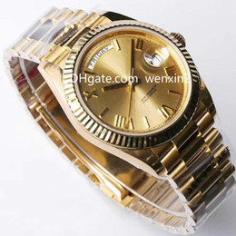 Wholesale 41 mm - AAA Luxury Watches.man Watches.super Luminous And Deep Waterproof Function.41 Mm.Fully automatic mechanical watch.Sports watch. Hot 41mm