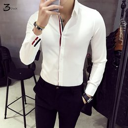 design shirts sell Coupons - XMY3DWX Men long sleeve shirt personality selling brand Europe the design thin body dress shirt fashion leisure business