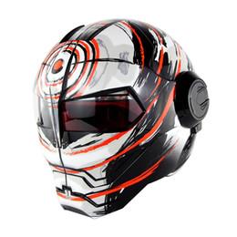 Wholesale Motorcycle Motocross Bike Cross - Moto bike Motocross Full Face Ironman Moto Capacete Casco Men helmets motorcycle helmet ABS casque cross