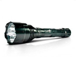 Самые высокие lm горелки онлайн-TrustFire TR-800 1200 LM 5 * CREE Q5 светодиодный водонепроницаемый фонарик высокой мощности для кемпинга