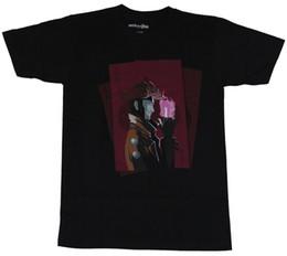 Vente de cartes en Ligne-Gambit (Marvel Comics) Mens T-Shirt - Une carte d'as puissant et stylisée Image Cool T-Shirts Designs Les meilleures ventes d'hommes
