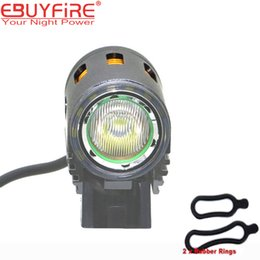 2019 batería baja led Lámpara de bicicleta LED de haz alto Luz de bicicleta de carretera baja L2 2000lm Bicicleta de bicicleta de luz delantera HeadLight (sin batería) rebajas batería baja led
