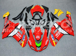 Wholesale Yellow Zx6r - New ABS Motorcycle bike Full Fairing Kits Fit For KAWASAKI Ninja ZX6R 636 07 08 ZX 6R 2007 2008 zx-6r Fairings set red yellow