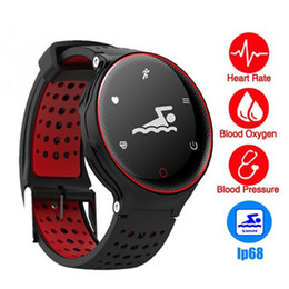 Wholesale Android X2 - X2 Smart Watch IP68 Waterproof 4.0 Bluetooth 0.96 Inch Blood Pressure Tracker Heart Rate Sleep Monitor For Android IOS