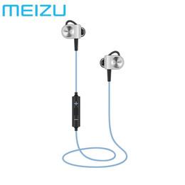 auricular meizu Rebajas Meizu original EP51 auricular inalámbrico Bluetooth Stereo Headset auricular impermeable apt-X de deportes con el MIC de aleación de aluminio
