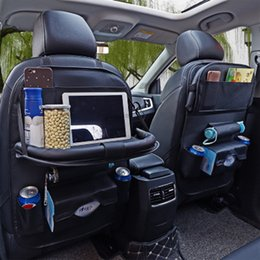 Accessoires intérieurs d'auto de voiture Titulaire de l'organisateur Titulaire de rangement de voyage multifonction Sac de rangement pour siège arrière Organisateur ? partir de fabricateur