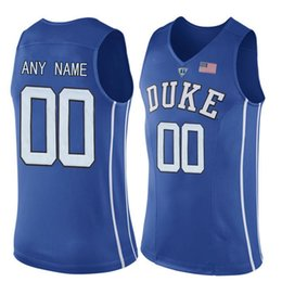 865da7eed9b Men Customized Duke Blue Devils College Jersey Custom made any name number  stitched Blue White Black Basketball jerseys Cheap