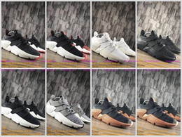 Wholesale Run Support - New 2017 High Quality EQT 4 Running Shoes Men Fashion Prophere Climacool All White Black EQT Support ADV jogging outdoors Sneakers Size 5-11