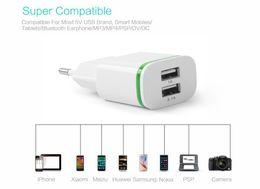 2019 telefones jiayu 5 V 2.1A Inteligente de Viagem Dupla 2 USB Adaptador de Carregador de Parede Portátil Plugue DA UE Telefone Móvel para Jiayu G5S G3 S2 S3 G5 G4 G3 G3 G2S telefones jiayu barato