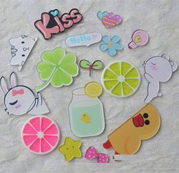 3d diy phone cases Promo Codes - 3D Lovely Cartoon Lemon Flatback DIY Phone Case Cellphone Decorations Summer Fresh Flat Back Scrapbooking Headwear Craft Wholesale