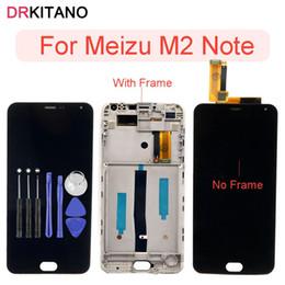 Assemblée de numériseur d'écran tactile d'affichage d'affichage à cristaux liquides de Note de Meizu pour Meizu M2 Note LCD avec le remplacement de cadre de M2note ? partir de fabricateur