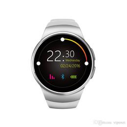 Круговые часы онлайн-Роскошные высокое качество смарт-часы круговой циферблат обнаружения сердечного ритма удаленная камера поддерживает несколько языков водонепроницаемый AI часы IPS