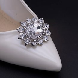 1 Pair High-end Rhinestone Shoes Decoration For Wedding Shoes Crystal  Luxury Accessories For Women s High Heels 03c0d37cdc20
