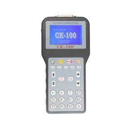 Tokens para programador clave online-CK-100 Auto Key Programmer V99.99 SBK CK100 Auto Key Programmer CK100 con 1024 tokens por DHL Freeshiping