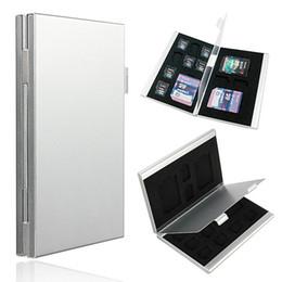 13 в 1 универсальный портативный алюминиевый 10 TF 3 для SD карты памяти ящик для хранения случаях держатель протектор легко носить инструменты высокое качество от Поставщики память на карте памяти