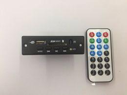 дюймовый pmp Скидка 12 В Bluetooth 3.0 Аудио MP3-плеер декодер плата WMA WAV FLAC DAC декодирования доска поддержка FM AUX SD MMC USB С случае