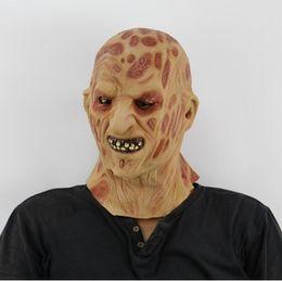 2019 зомби-маски Бесплатная доставка горячие продажи реалистичные игрушки Крюгер костюм реквизит латекс Фредди маска Хэллоуин ужас призрак зомби Фредди Джейсон Маска дешево зомби-маски