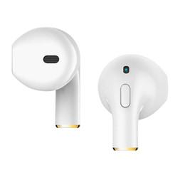 Cabo mini usb 3.5mm on-line-Branco Mini 4,2 polegadas Fones De Ouvido Bluetooth Música Telefone Estéreo Fones De Ouvido Esportes Inteligentes 3D Cada Carregador com Cabo USB