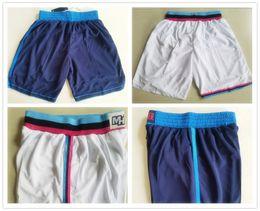 Wholesale miami shorts - Hot Sale 2018 The City Basketball Short Mens OKC 2017-18 New Season MIAMI Breathable Sweatpants Basketball Shorts Sport white Blue