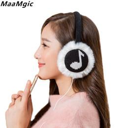 schwarzes fauxpelzstirnband Rabatt Ohrenschützer Musik Ohrenschützer Kopfhörer Wärmer Ohrenschützer Kunstpelz Ohrenschützer Plüsch Kopfhörer Weiche Wärmer Frauen Mädchen Winter