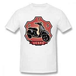 Cotone Organnic della maglietta del motorino di Vespa Gts su ordinazione per cotone maschio d'annata di qualità Camiseta più dimensione supplier quality custom shirts da camicie personalizzate di qualità fornitori