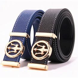 Großer weißer gürtel online-Luxus-Gürtel Herren weißen Gürtel Designer Herren hohe Qualität große Schnalle Strap Stop