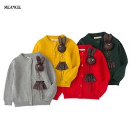 MILANCEl 2018 Ragazze Maglione Neonate Vestiti fatti a mano Cardigan Doll Baby Girl Winter Clothes supplier handmade cotton dolls da bambole di cotone fatte a mano fornitori