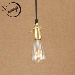 2019 luminaires de peinture Vintage fer peint abat-jour en métal vent industriel lampe E27 220V LED suspendu luminaire restaurant chambre salon café promotion luminaires de peinture