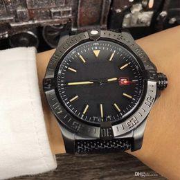 Wholesale bird mechanical - Wholesale - Luxury AAA Men&039;s Avenger II Black Bird Watch Stainless Steel 8213 Automatic Mechanical Men Mens Watch Watches