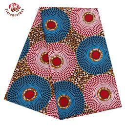 Wholesale Super Wax Hollandais - 2017 Ankara African Polyester Wax Prints Fabric Super Hollandais Wax High Quality 6 yard African Fabric for Party Dress BRW318
