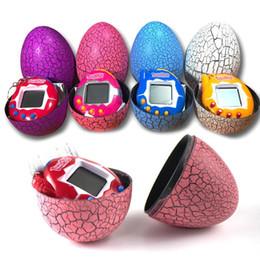 Динозавр яйцо Тамагочи динозавр яйцо виртуальный кибер цифровой Pet игра игрушка Тамагочи цифровой электронный E-Pet Рождественский подарок от Поставщики яйца