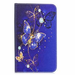 Custodia Shell per Samsung Galaxy Tab S2 SM-T810 T813 T815 Custodia T819 Custodia con fiore Albero Butterfly Stampa T810 T815 + PEN supplier samsung tab s2 9.7 da scheda ss2 di samsung 9.7 fornitori