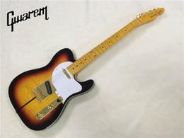 nouvelles guitares tl Promotion Guitare électrique wholsale NOUVEAU guitarra TL guitarra / oem couleur jaune oem guitare électrique / guitare en Chine