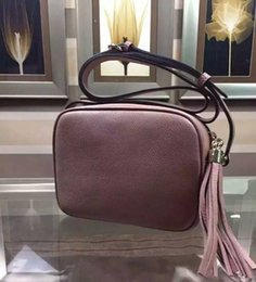 Wholesale Best Cross - famous Designer small shoulder bag with tassel best quality 100% real leather cross body bag for lady 308364