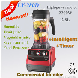 Wholesale Milk Shake Mix - Intelligent timer control commercial blender,soya bean milk maker,ice crusher,2200Watt,2.8L