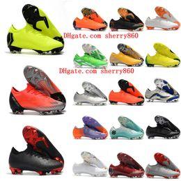 2018 botines de fútbol para hombre Mercurial Vapor VII XII Elite FG SE CR7  zapatos de fútbol Neymar botas de fútbol Mercurial Superfly scarpe da  calcio hot 9a3e3619eac57