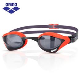 Wholesale Race Hd - Arena HD Anti Fog Swimming Goggles Professional Racing Waterproof Swimming Glasses for Men Women Swim Eyewear AGL-230