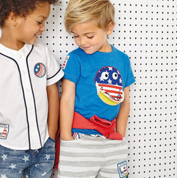 Wholesale classic baby clothes sets - Children baby children clothes china kids boys clothes sets toddler summer short clothing sets classic suit for boy toddler child suits